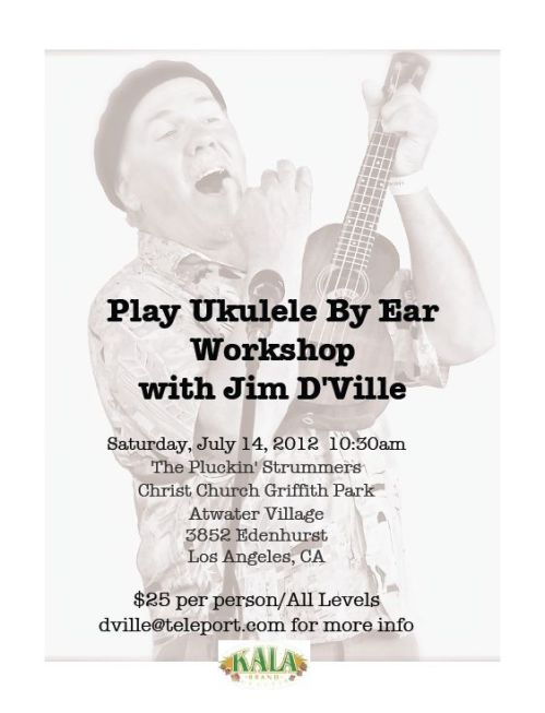 Jim D'Ville - Play by Ear Workshop